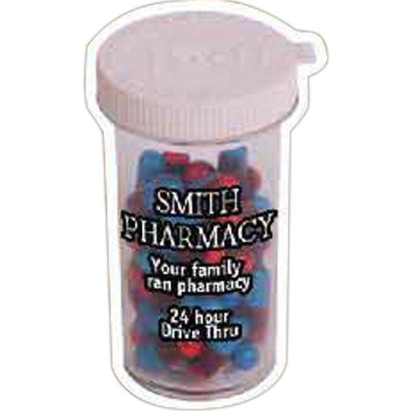 Promotional Pill Bottle Magnet