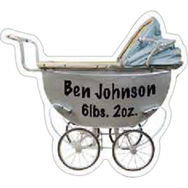Customized Old Baby Carriage Magnet