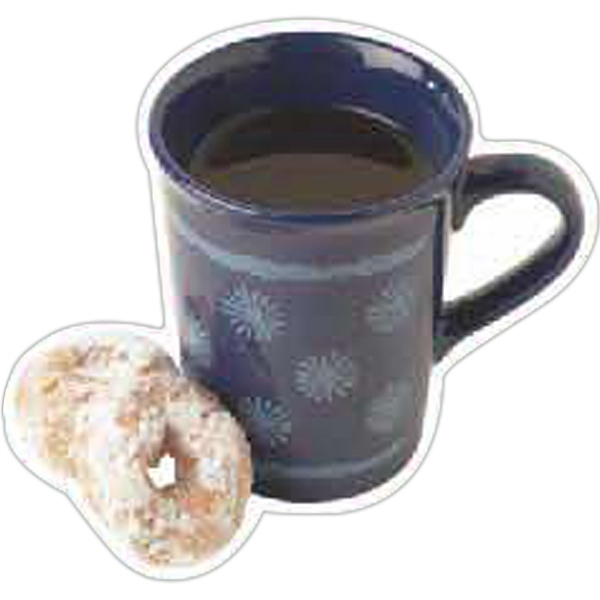 Customized Mug With Donuts Magnet