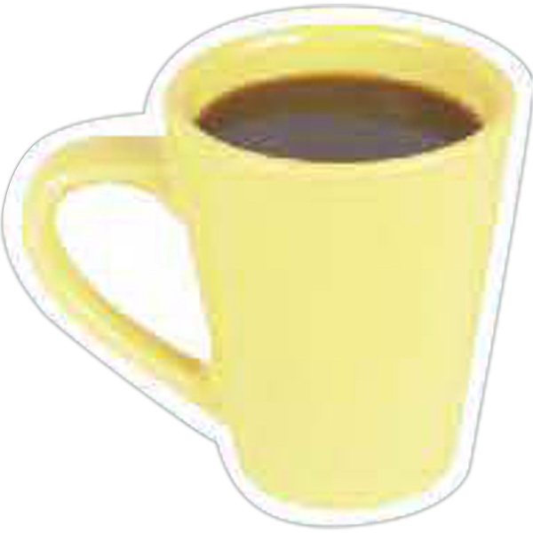 Imprinted Coffee Mug Magnet