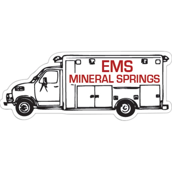 Personalized Ambulance Magnet