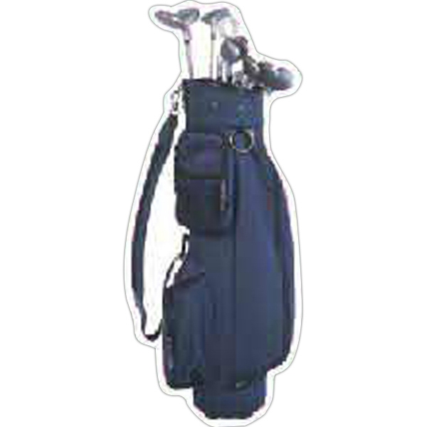 Imprinted Golf Bag Magnet