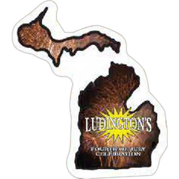 Customized Michigan Magnet