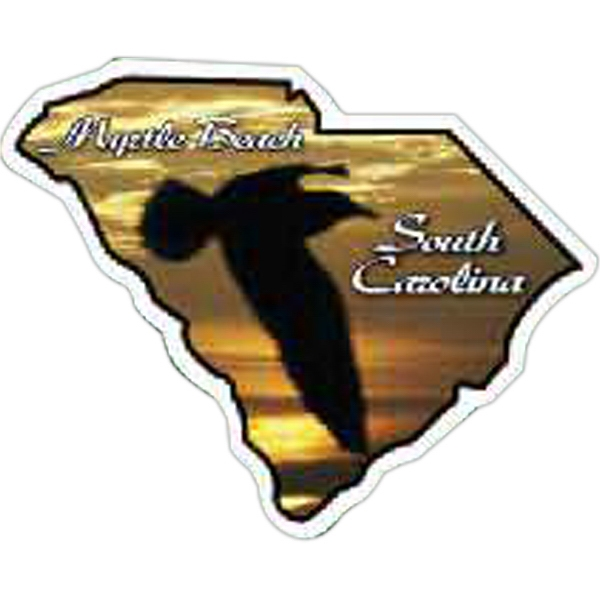 Customized South Carolina Magnet