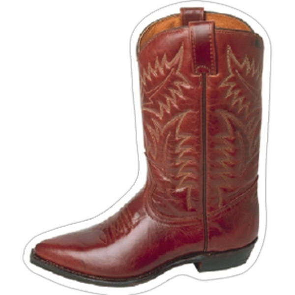 Promotional Cowboy Boot Magnet