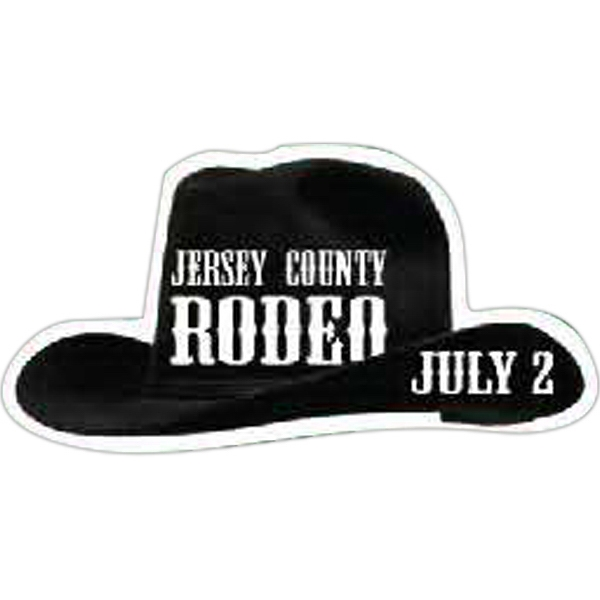 Personalized Cowboy Hat Magnet