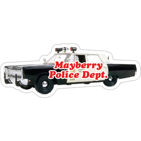 Custom Police Car Magnet