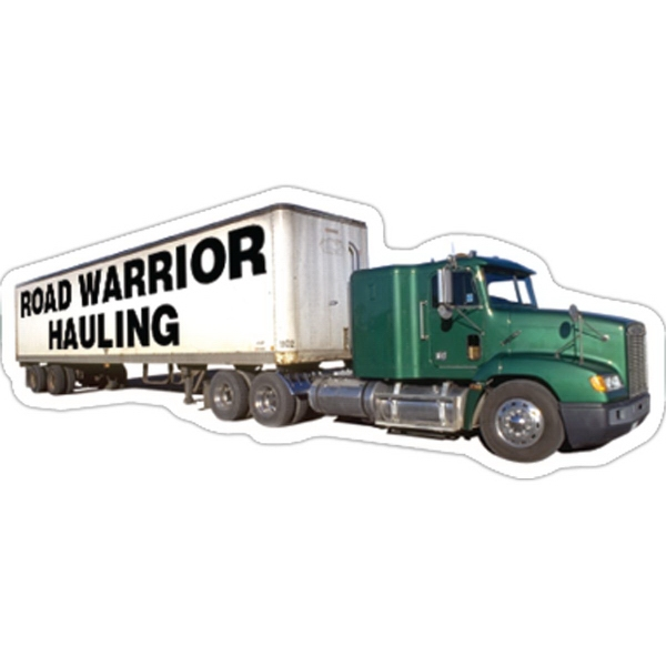 Promotional Semi Truck Magnet