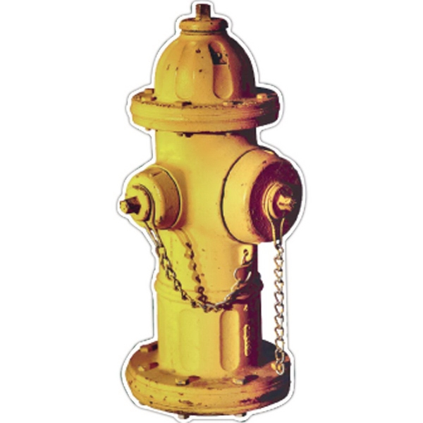 Printed Fire Hydrant Magnet