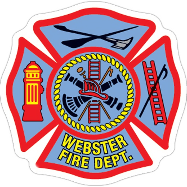 Customized Firemen's Shield Magnet