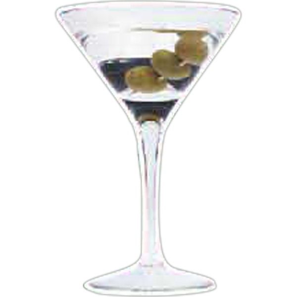 Promotional Martini Glass Magnet