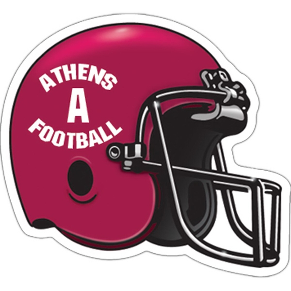 Custom Football Helmet Magnet