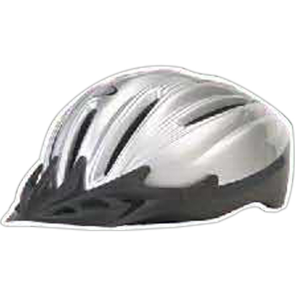 Printed Bicycle Helmet Magnet