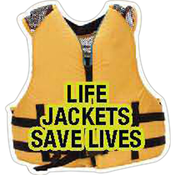 Promotional Life Jacket Magnet