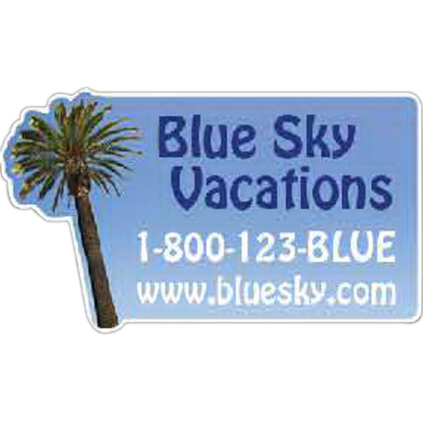Customized Palm Tree Magnet
