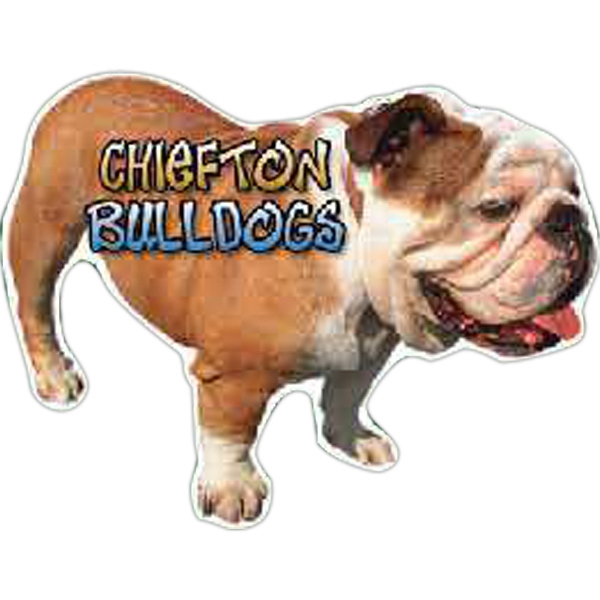 Customized Bull Dog Magnet