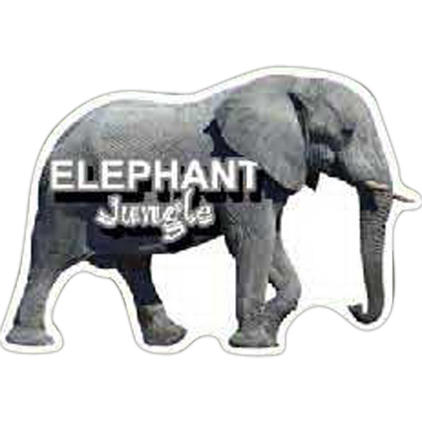 Custom Elephant Magnet