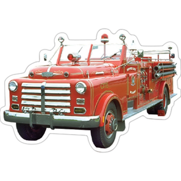 Personalized Fire Truck Magnet