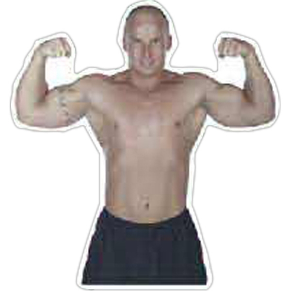 Printed Body Builder Magnet