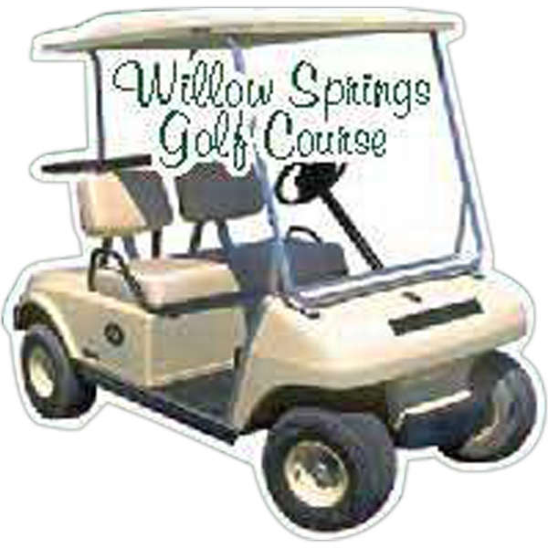 Personalized Golf Cart Magnet