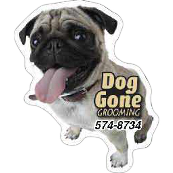 Imprinted Dog Magnet