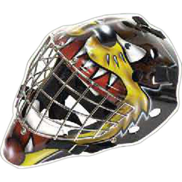 Customized Hockey Mask Magnet
