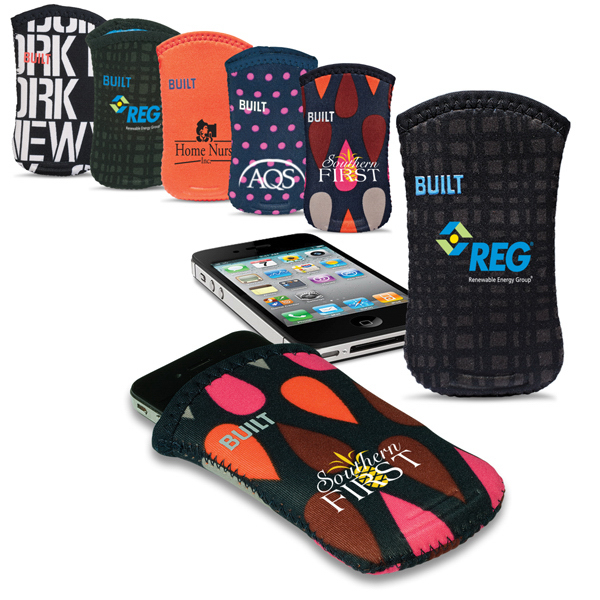 Imprinted Built (R) Neoprene Phone Sleeve