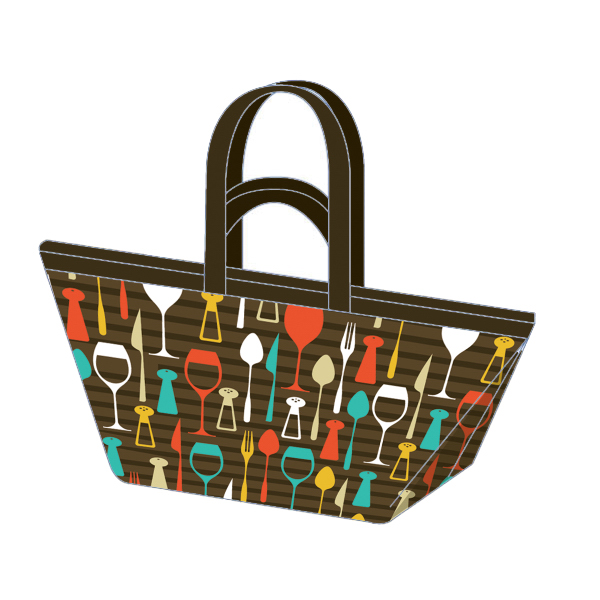 Customized Large Trendy Shopper Bag