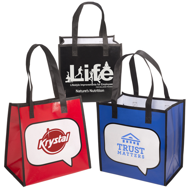 Promotional Burst (R) Shopper Tote - 100GSM