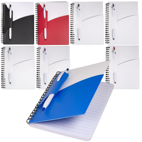 Customized Swing Notebook With Pen