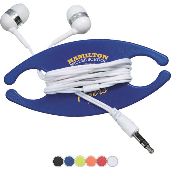 Promotional Earbuds On-A-Caddy