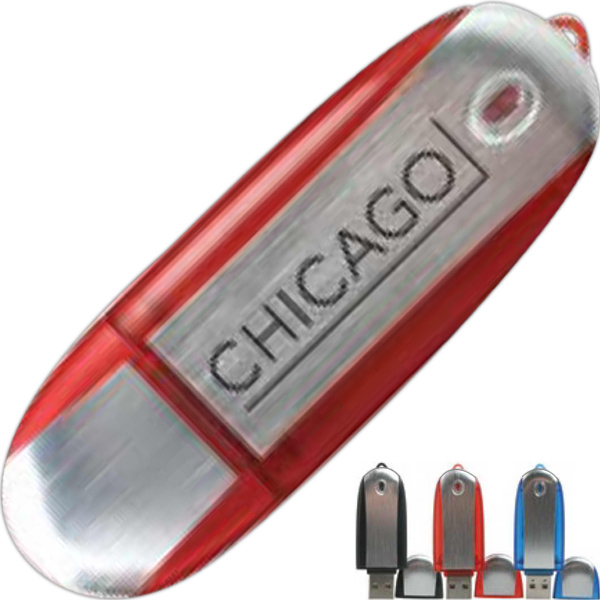 Printed Chicago USB Flash Drive