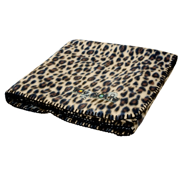 Personalized Cheetah Blanket