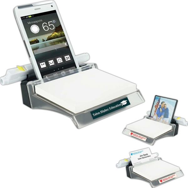 Imprinted Note Holder Station