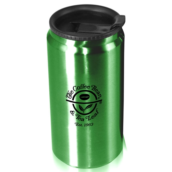 Promotional I'm Not A Soda Can 12 oz. stainless steel can shaped tumbler