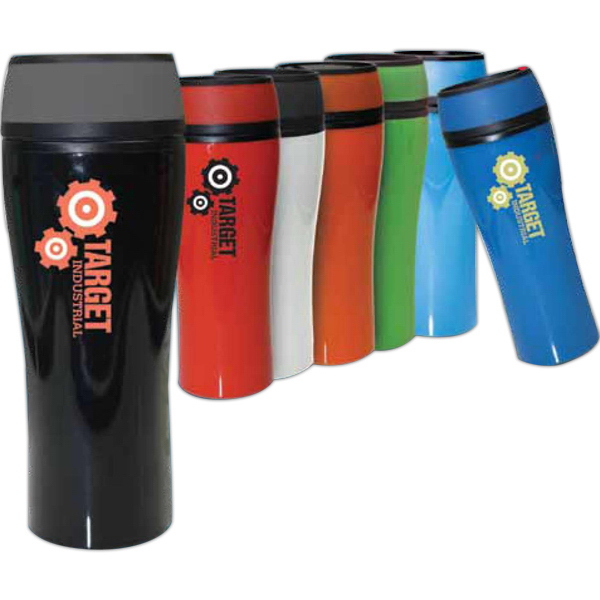 Promotional J-Juicy 16 oz. plastic tumbler