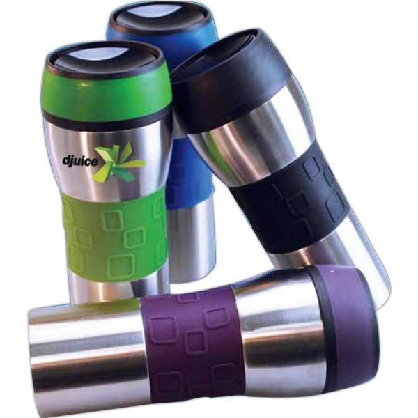 Printed J-Steel 16 oz double walled stainless steel tumbler