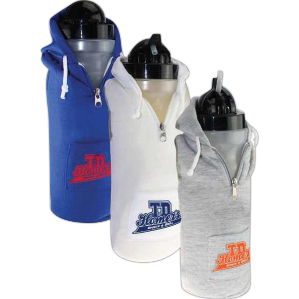 Custom Sweatshirt Water Bottle