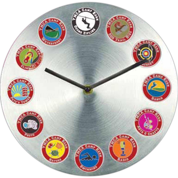 Promotional Aluminum Bubble Wall Clock