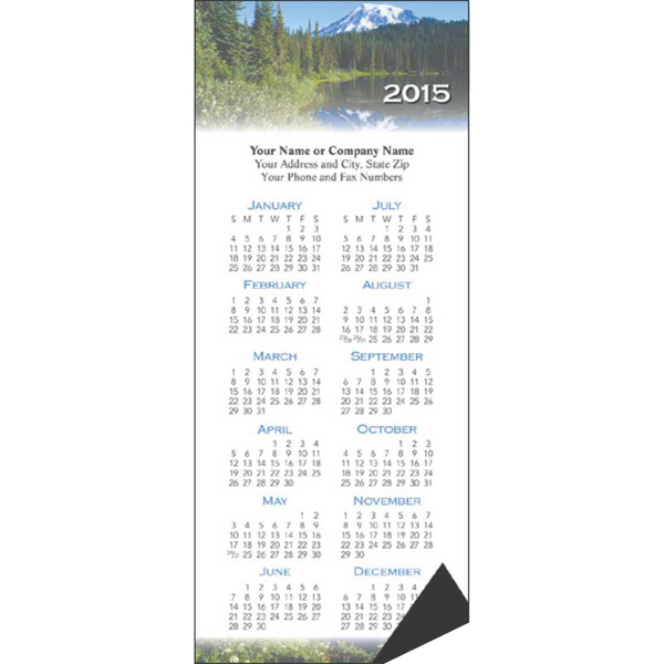 Custom Economy Collection Magnetic Scenic Calendar