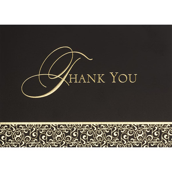 Imprinted Thank You Greeting Card