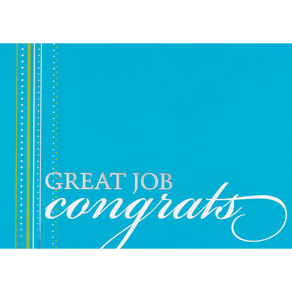 Custom Congrats Greeting Card
