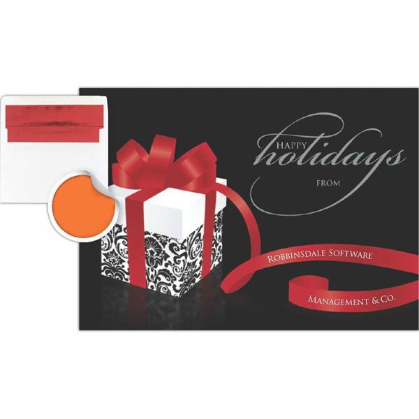 Customized Personalized Holiday Gift Greeting Card