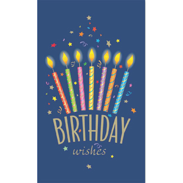 Promotional Birthday Wishes Greeting Card