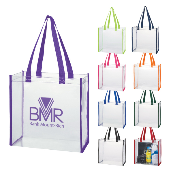 Personalized Clear tote bag