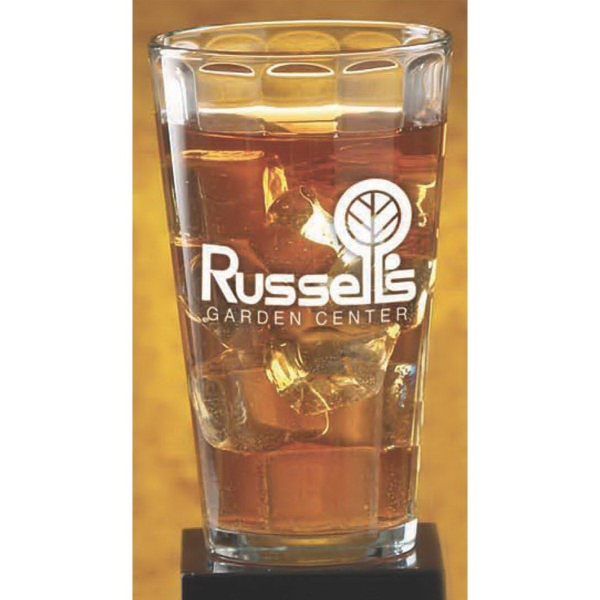 Printed Optic Pint Glass