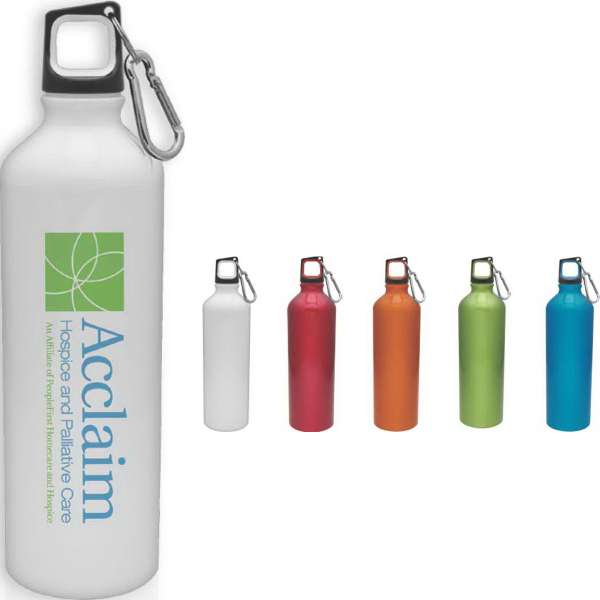 Promotional Aluminum Scuba Collection Water Bottle