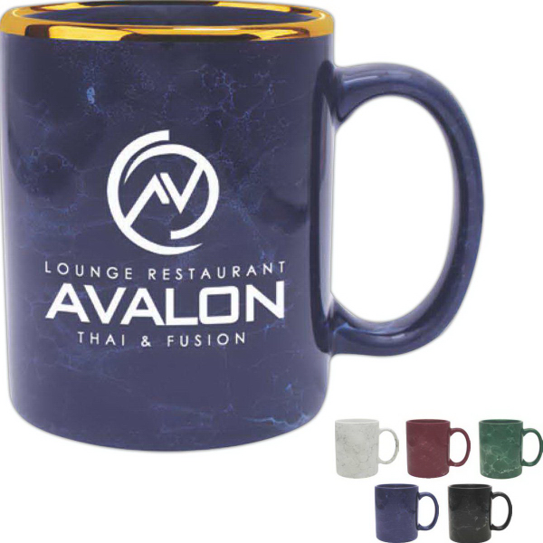 Personalized Marble Collection Mug