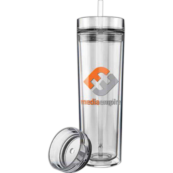Personalized ClearView XL Clear Straw Tumbler