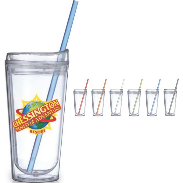 Imprinted Clear Urban Tumbler
